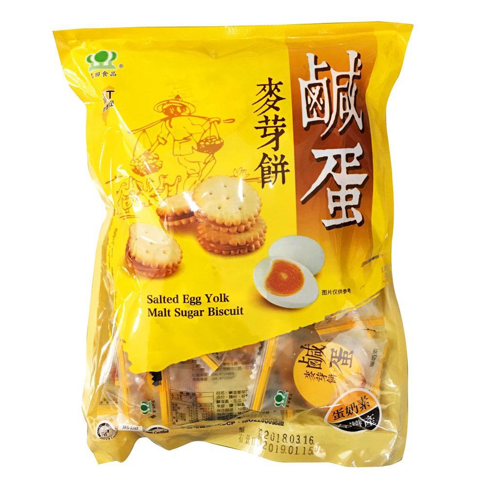 Hình ảnh Bánh quy nhân trứng muối 180g Đài Loan