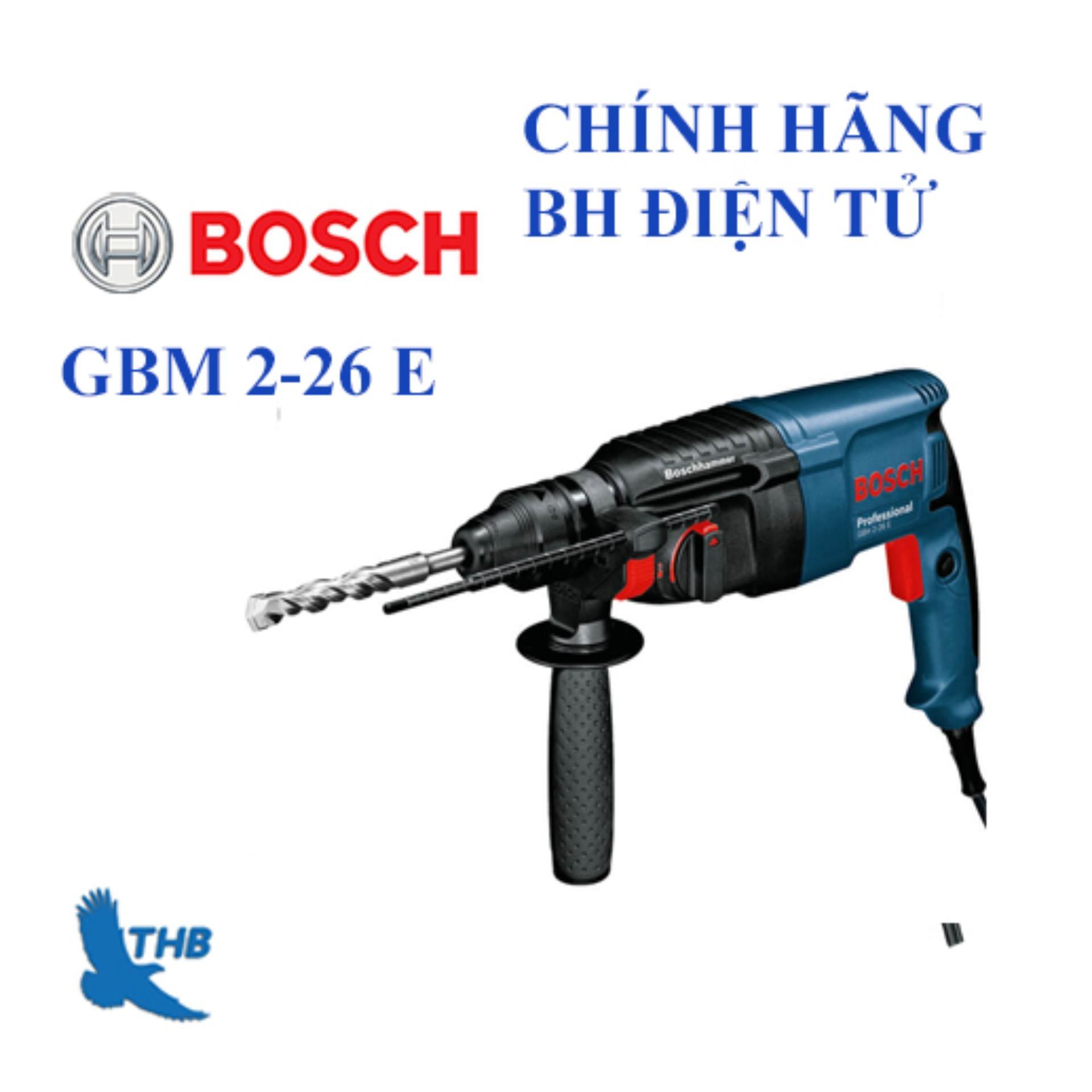 Máy khoan búa Bosch GBH 2-26 E