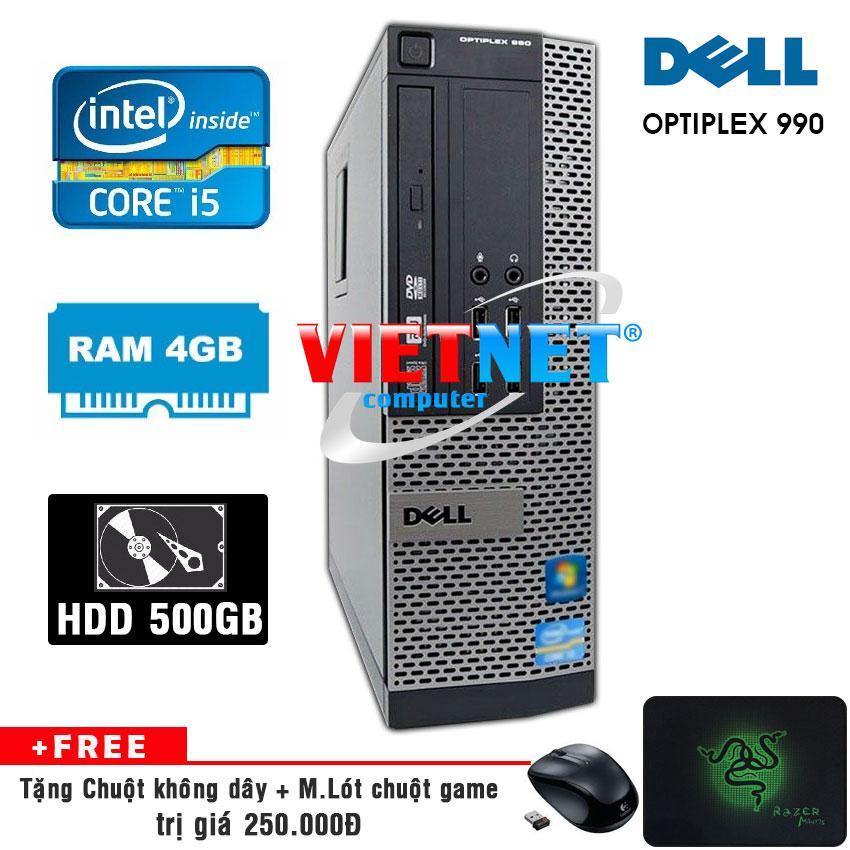 Hình ảnh Máy tính để bàn Dell optiplex 990 (Core i5 RAM 4GB HDD 500GB) tặng chuột không dây, miếng lót chuột - Hàng nhập khẩu