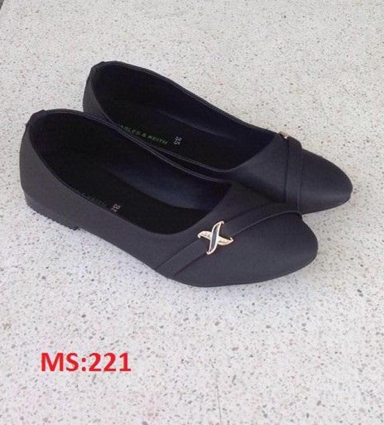(Có mã miễn ship) Giày nữ, giày búp bê PinkShopGiayDep chất liệu da, êm chân, bền, đẹp - MS:221 giá rẻ