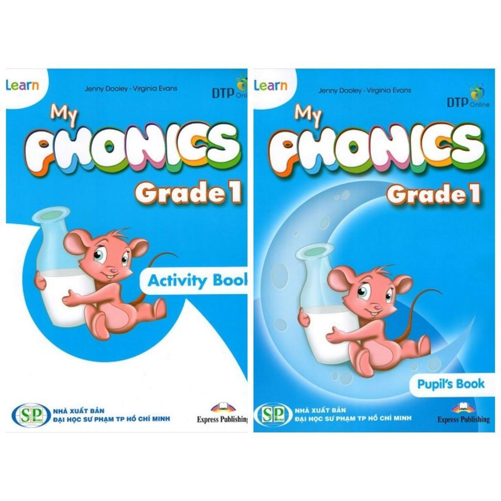 Mua Bộ sách tiếng Anh I-Learn My Phonics Grade 1 - Tác giả:  Jenny Dooley - Virginia Evans