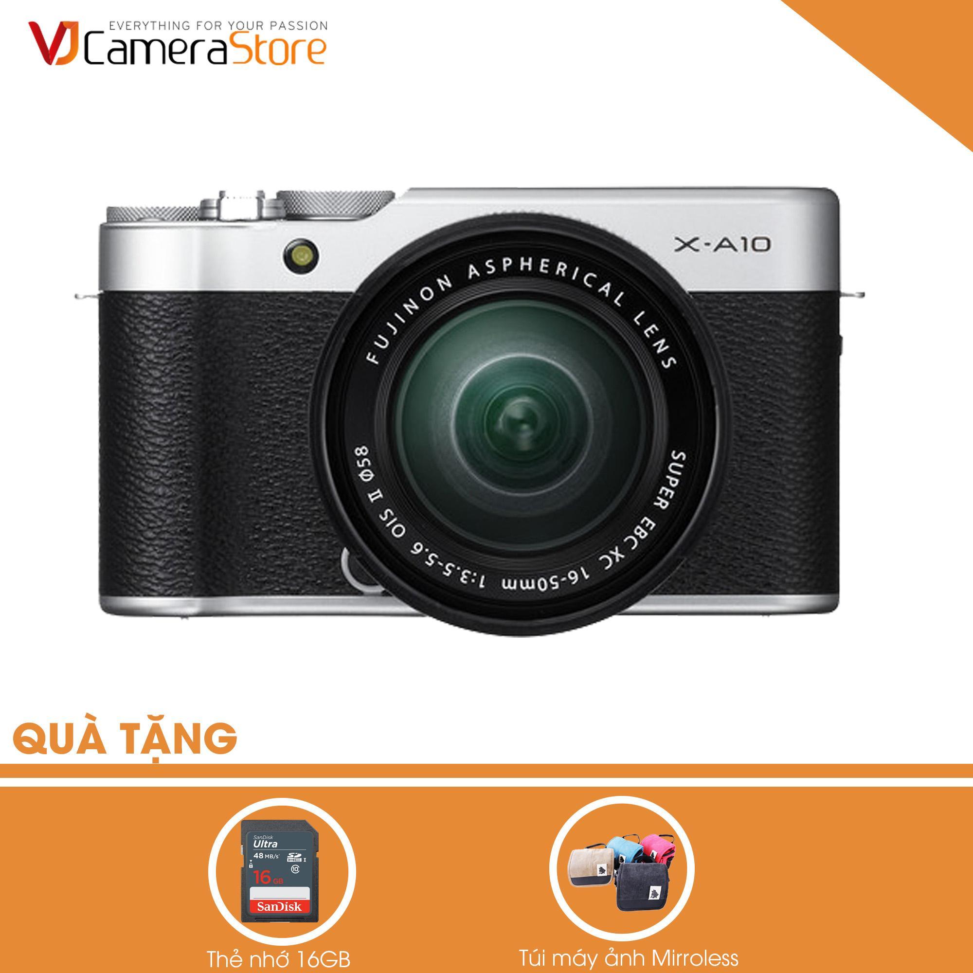 Giá Bán Fujifilm X A10 Bạc Lens Kit Xc 16 50Mm F3 5 5 6 Ois Ii Hang Phan Phối Chinh Hang Tặng Kem 1 Thẻ 16Gb 1 Tui Mirroless Fujifilm Nguyên