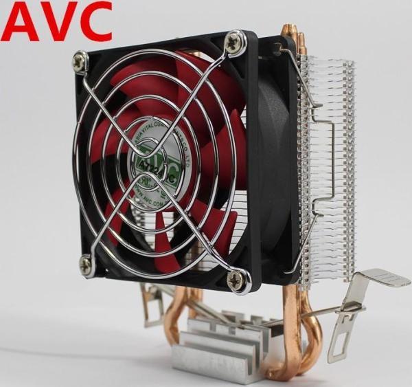 Bảng giá Bộ tản nhiệt AVC dạng tháp, tương thích nhiều socket Intel/AMD, quạt 8cm siêu bền và êm ái Phong Vũ