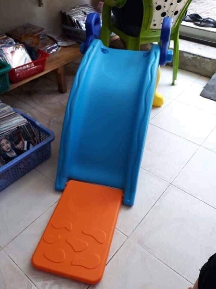 Hình ảnh Bập bênh, cầu trượt 3 trong 1 cho bé