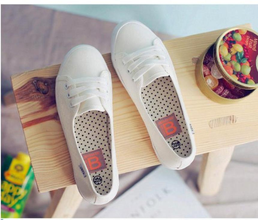 Giày slip on vải cotton giả dây siêu mềm siêu nhẹ thoáng mát giá rẻ