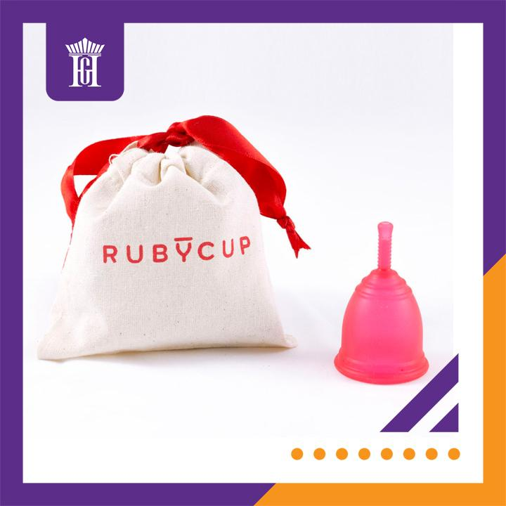 Cốc nguyệt san Ruby Cup, UK (màu Đỏ Size S) - Hàng nhập khẩu chính hãng bởi Công ty Hoàng Gia - Ruby Cup Small Red nhập khẩu