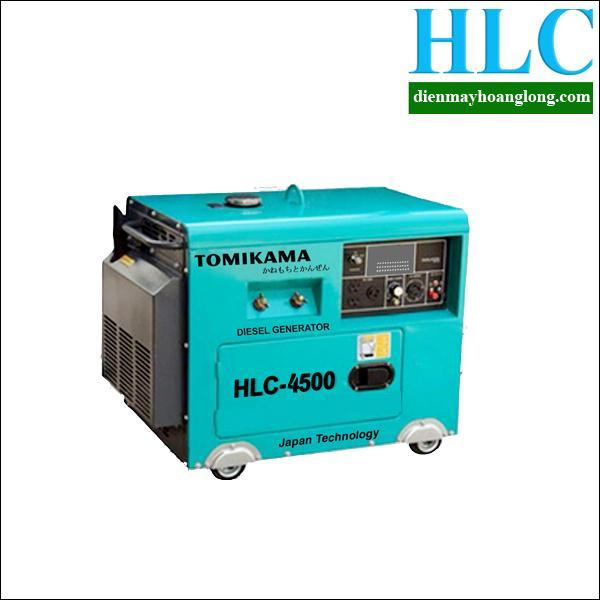 Máy phát điện chạy dầu Tomikama HLC 4500
