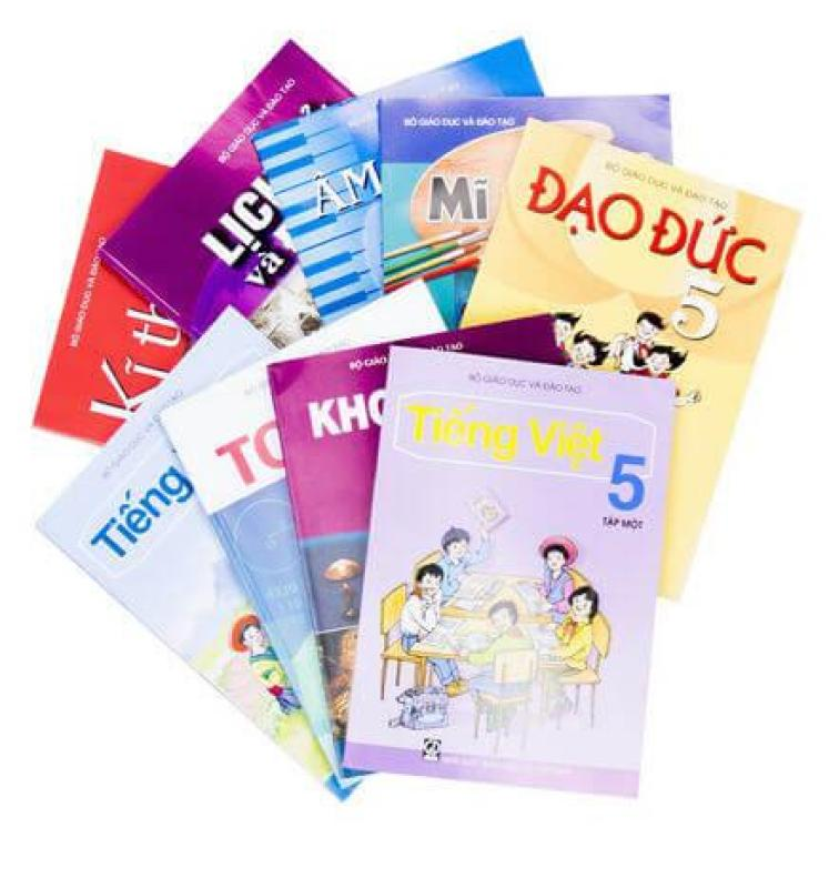 Mua Sách Giáo Khoa Lớp 5 ( tặng bìa kiếng và dán nhãn)
