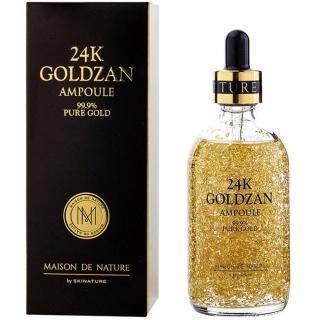 SERUM Dưỡng Trắng da Tinh Chất Vàng 24k GOLDZAN Ampoule 99.9% Pure Gold 100ML thumbnail
