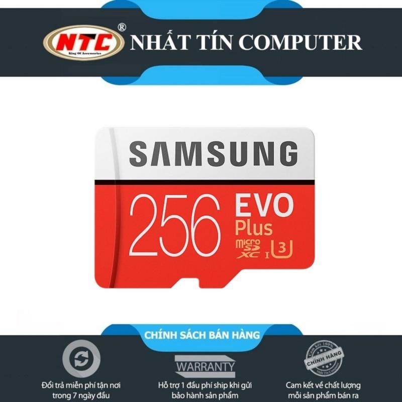 Thẻ Nhớ MicroSDXC Samsung Evo Plus 256GB 95MB/s (Đỏ)