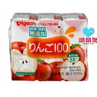 Vỉ 3 hộp nước ép Pigeon vị táo 13593 125ml x 3 thumbnail