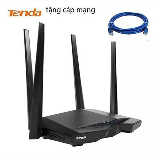 Hình ảnh Thiết bị phát Wifi chuẩn AC 1200Mbps Tenda AC6 (Đen)