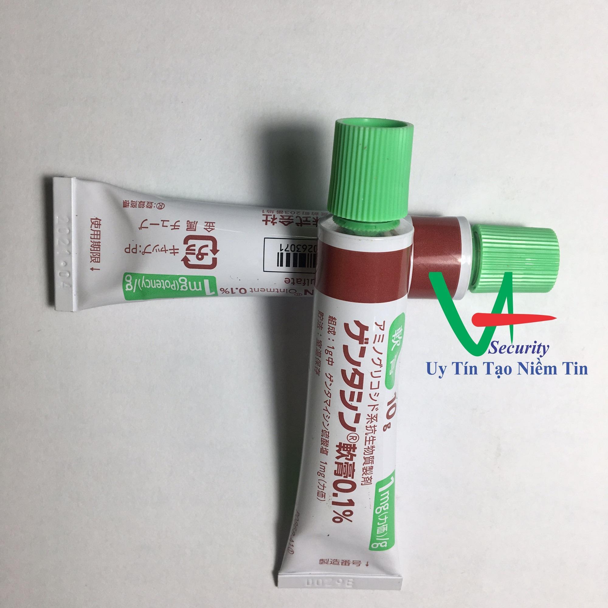 Combo 2 lọ Kem Trị Sẹo Gentacin 10g Nhật bản Xóa Bỏ Mọi Loại Sẹo Nhanh Chóng và an toàn
