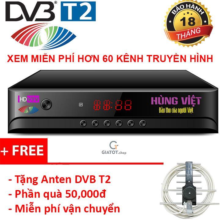 Hình ảnh Đầu thu kỹ thuật số DVB-T2 HÙNG VIỆT HD-789s tặng Anten DVB T2