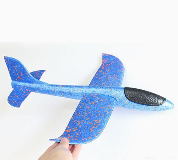 Hình ảnh Đồ chơi Máy bay xốp dẻo EPP cỡ lớn 48cmx46cmx12cm (loại đẹp)