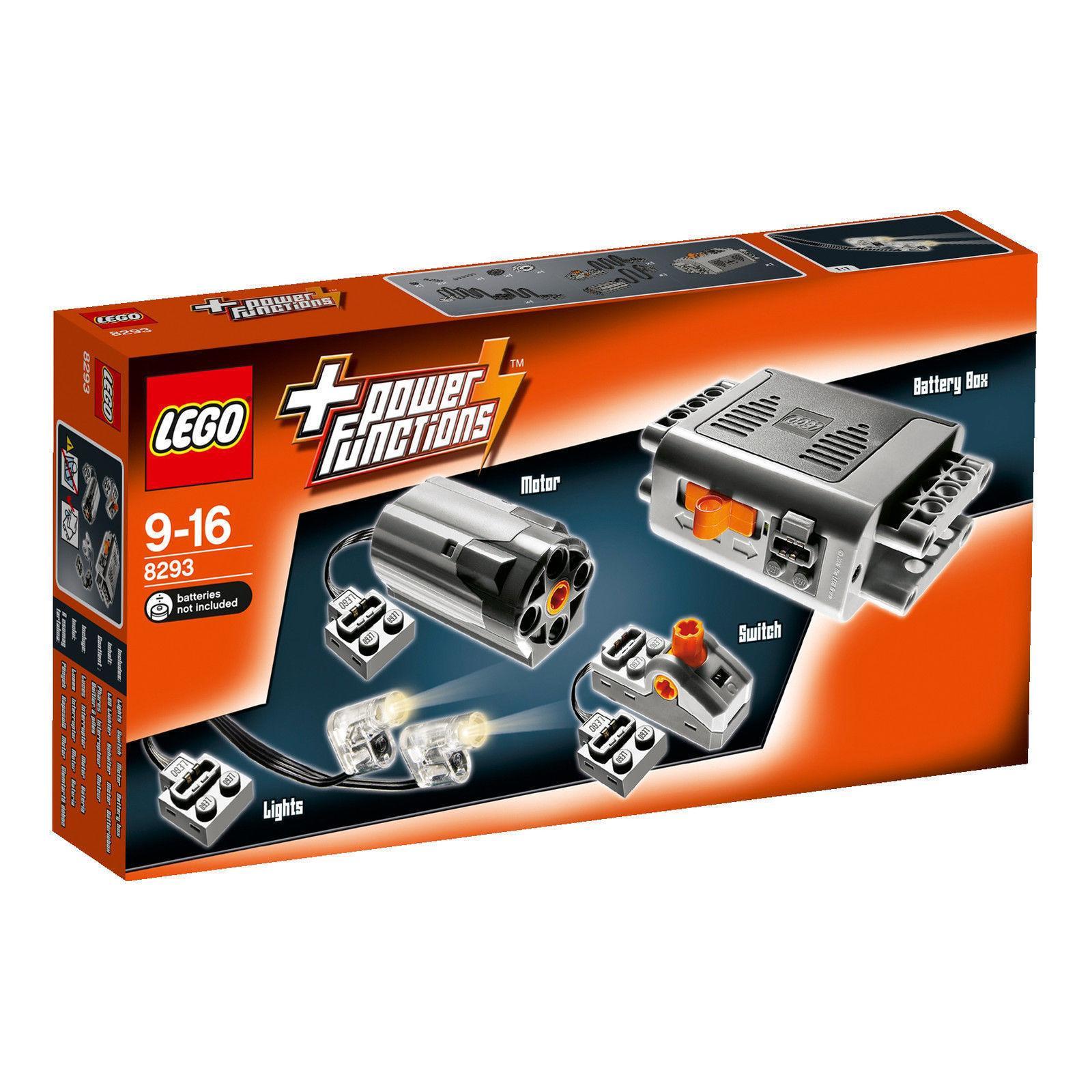 Bộ động Cơ LEGO - LEGO Technic Power Functions 8293 (10 Chi Tiết) Giảm Cực Khủng