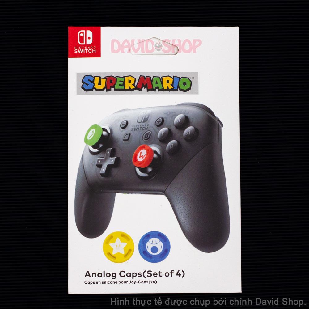 Hình ảnh Núm bọc Super Mario cho cần Analog của Pro Controller - Nintendo Switch