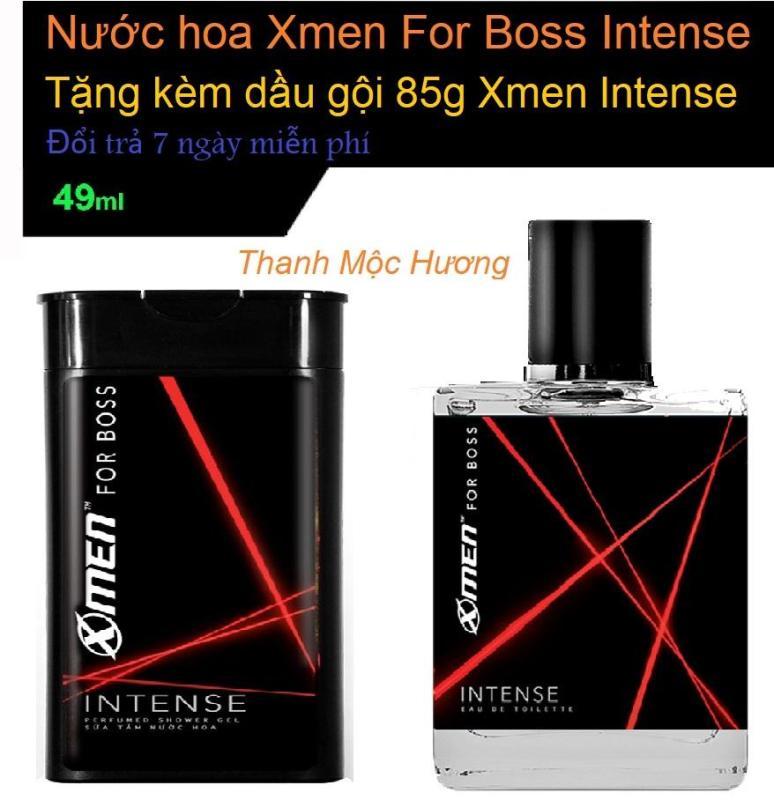 Nước hoa Xmen Boss Intense 2018 49ml tặng kèm dầu gội 85g