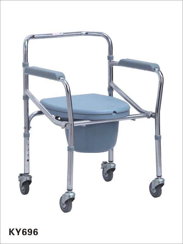 Ghế bô vệ sinh có bánh xe điều chỉnh chiều cao cao cấp OneX chính hãng