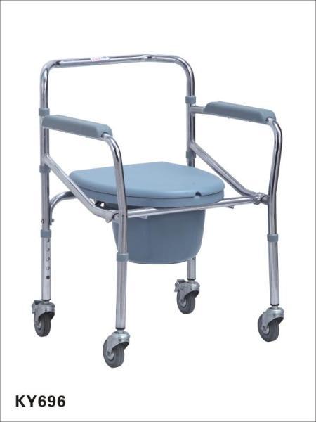 Ghế bô vệ sinh có bánh xe điều chỉnh chiều cao cao cấp OneX