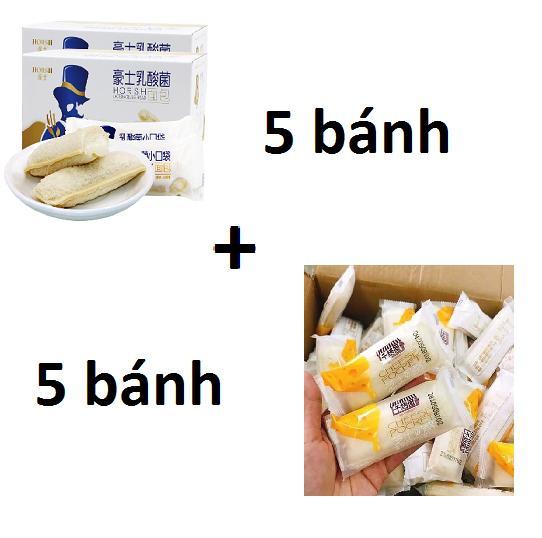 Hình ảnh [Sài Gòn - HCM] Combo 5 bánh sữa chua Horsh + 5 bánh sữa chua phô mai Cheese Pocket