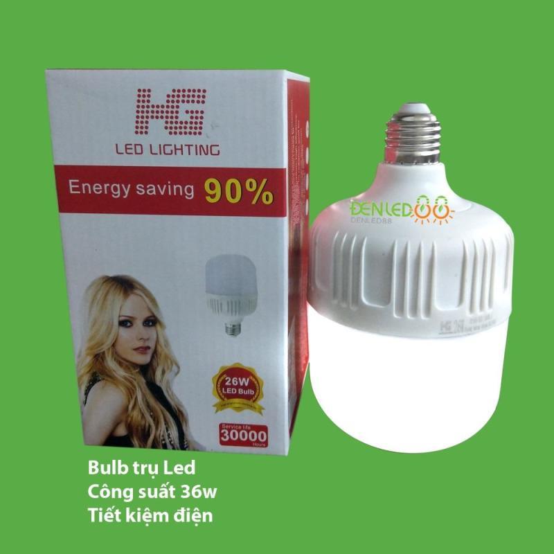 Bộ 2 bóng đèn led Bulb chống nước 36w ( ánh sáng trắng)
