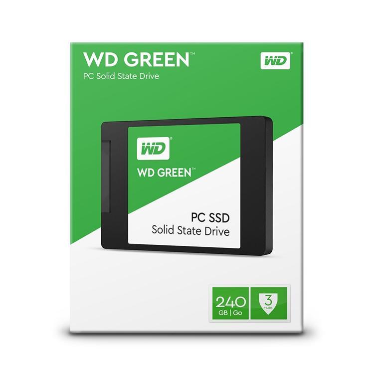 Hình ảnh Ổ cứng SSD WESTERN Green 240Gb Sata III 2.5inch