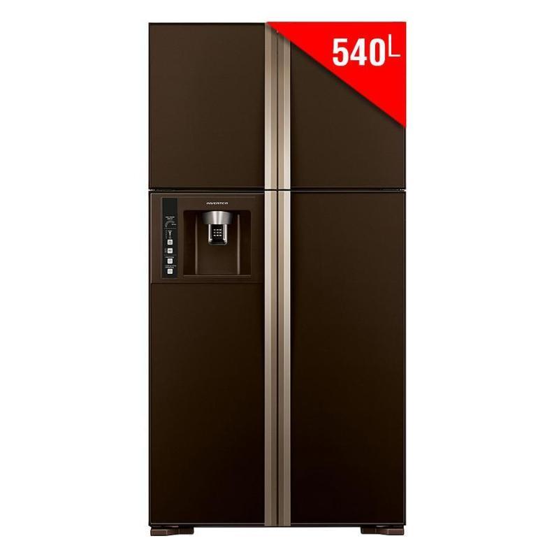 Tủ lạnh HITACHI R- W660FPGV3X  540L mặt gương nâu