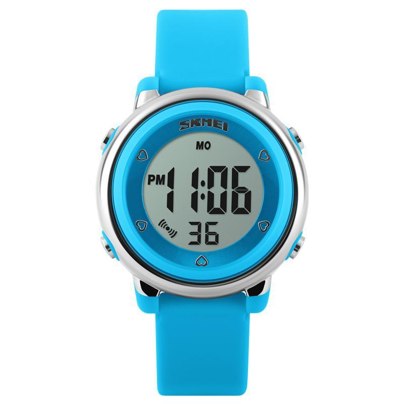 SKMEI 1100 New Fashion Sports Children Watches Waterproof Alarm Watch Kids Back Light Calendar Digital Wristwatches Relogio Infantil - intl bán chạy