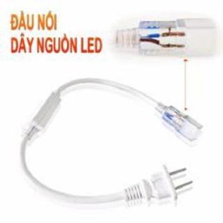 2 dây nguồn led 5050 220v. Giắc nguồn có sẵn phích cắm, kèm chân đồng. Sử dụng cấp nguồn cho đèn led dây 220V. thumbnail