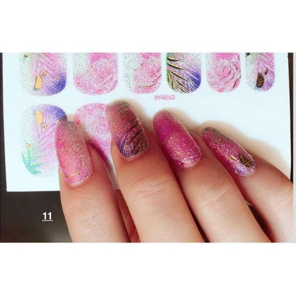 nail art sticker dán móng tay N03 (qua tặng kem 1 giũa và 2 khăn khô vô trùng) tốt nhất