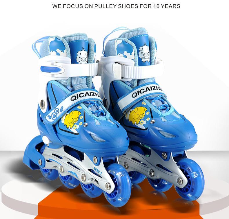 Giày trượt patin QICAISHU size L cỡ giày từ 36 tới 42