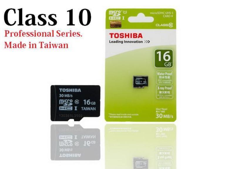 THẺ NHỚ TOSHIBA 16GB CLASS 10 THẺ NHỎ