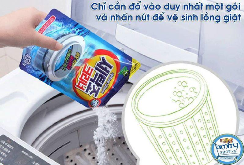 Bột Tẩy Lồng Máy Giặt Hàn Quốc 450g Cao Cấp - Hàng Nhập Khẩu Siêu Khuyến Mại