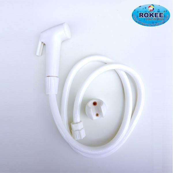 Hình ảnh Vòi xịt vệ sinh nhựa Rokee DL-01 (Trắng)