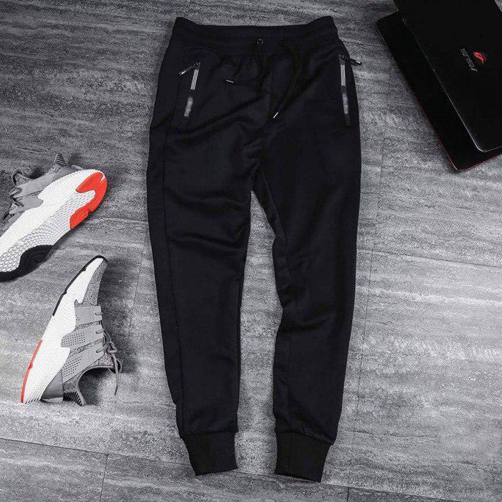[Xả Kho Đón Hè] Quần jogger nam túi khóa bo chun phong cách thể thao Hàn Quốc