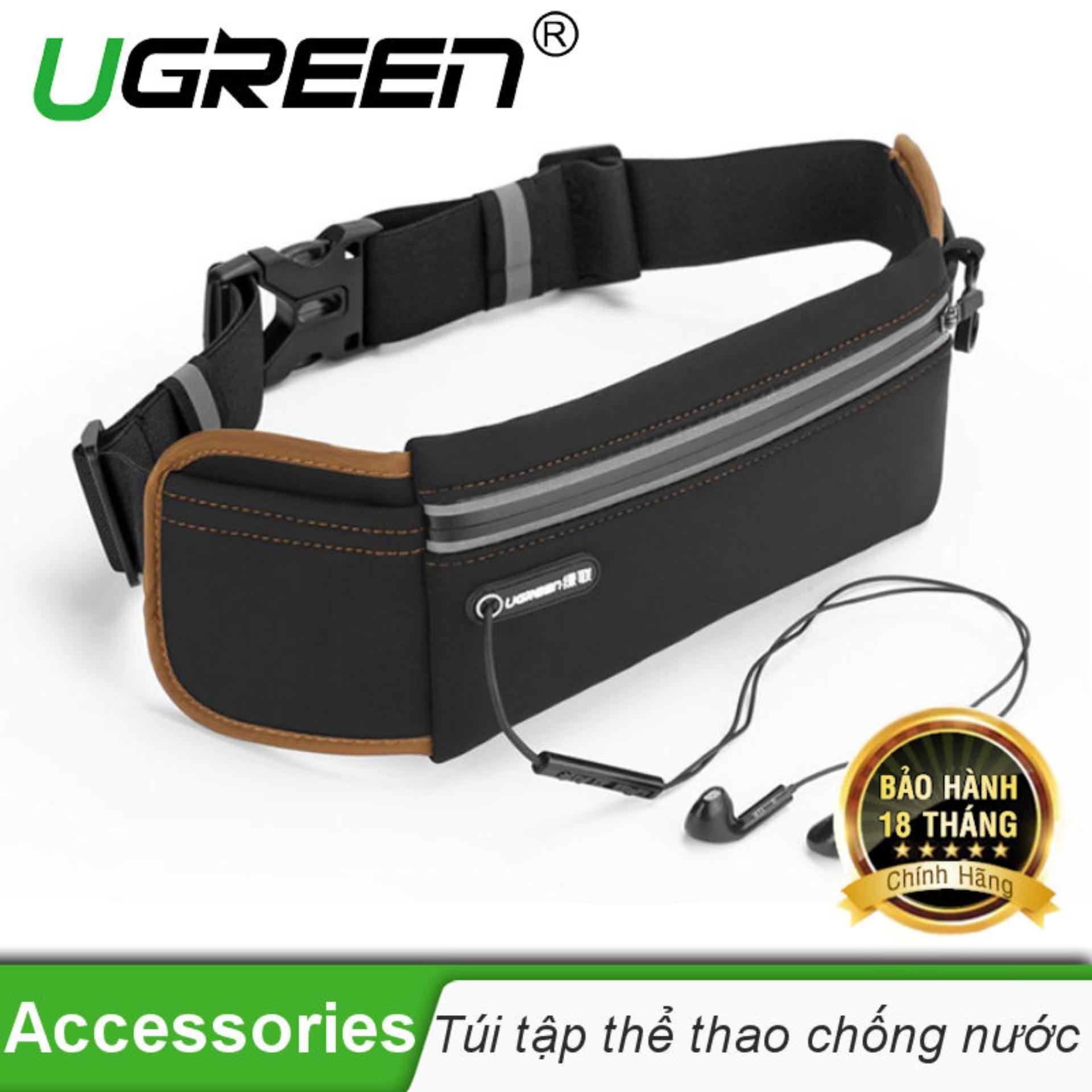 Dây Lưng đa năng Cho Smartphone khi tập thể thao Ugreen Lp112 20818 (đen nâu)