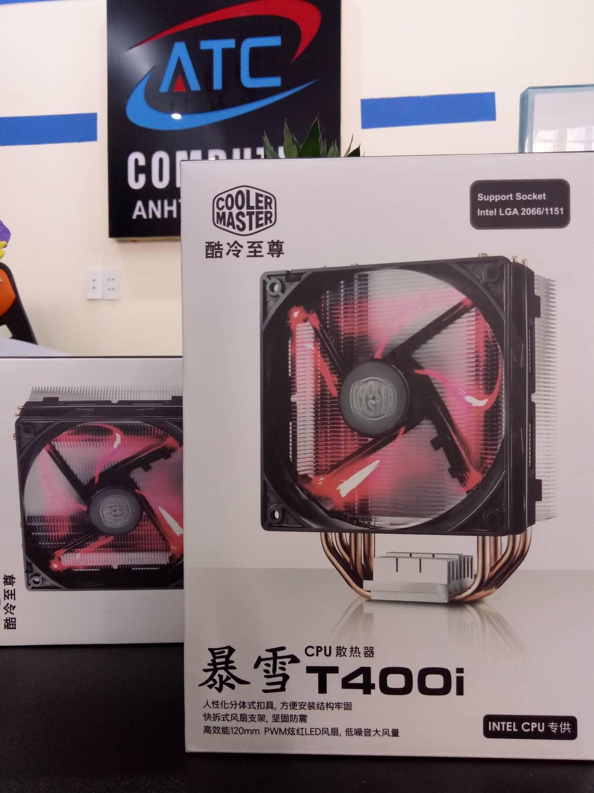 Quạt tản nhiệt CPU CoolerMaster T400i cực mát
