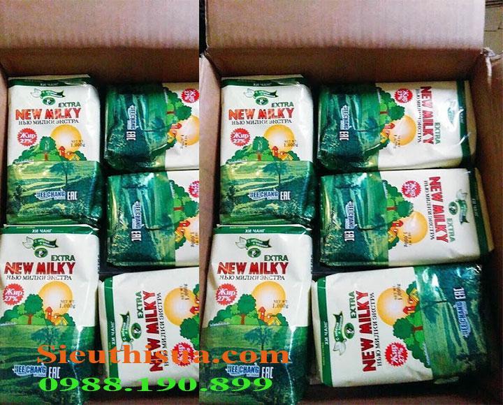 Sữa béo Nga newmilky dành cho người gầy nhập khẩu