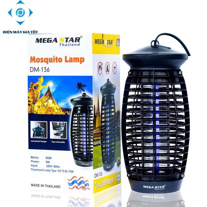 Đèn bắt muỗi Thái Lan Mega Star DM136 (Đen)