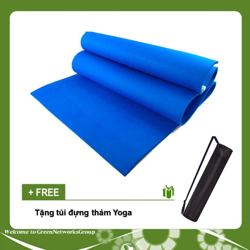 Bán Thảm Yoga SP loại 8mm 1 lớp + tặng túi đựng thảm GreenNetworks