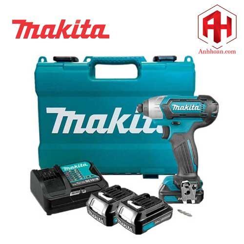 Máy vặn vít dùng pin Makita 12V TD110DSYE