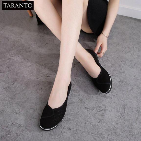 Giày búp bê đi bộ êm chân TARANTO TRT-GBBNU-01 giá rẻ