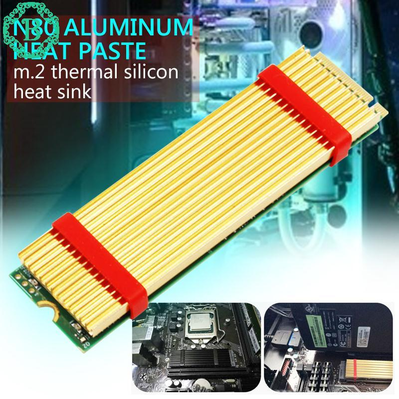 Benediction M.2 Heatsink Ngff Heatsink Durable Golden Office M.2 SSD