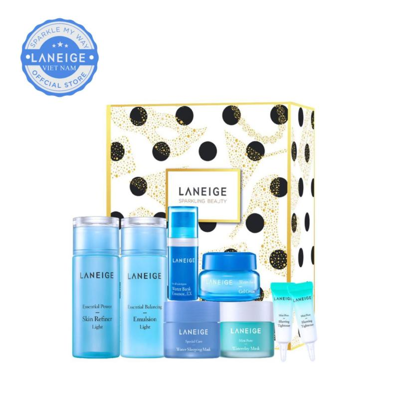 Bộ dưỡng ẩm dành riêng cho da dầu và da hỗn hợp Laneige Light Moisture Set nhập khẩu