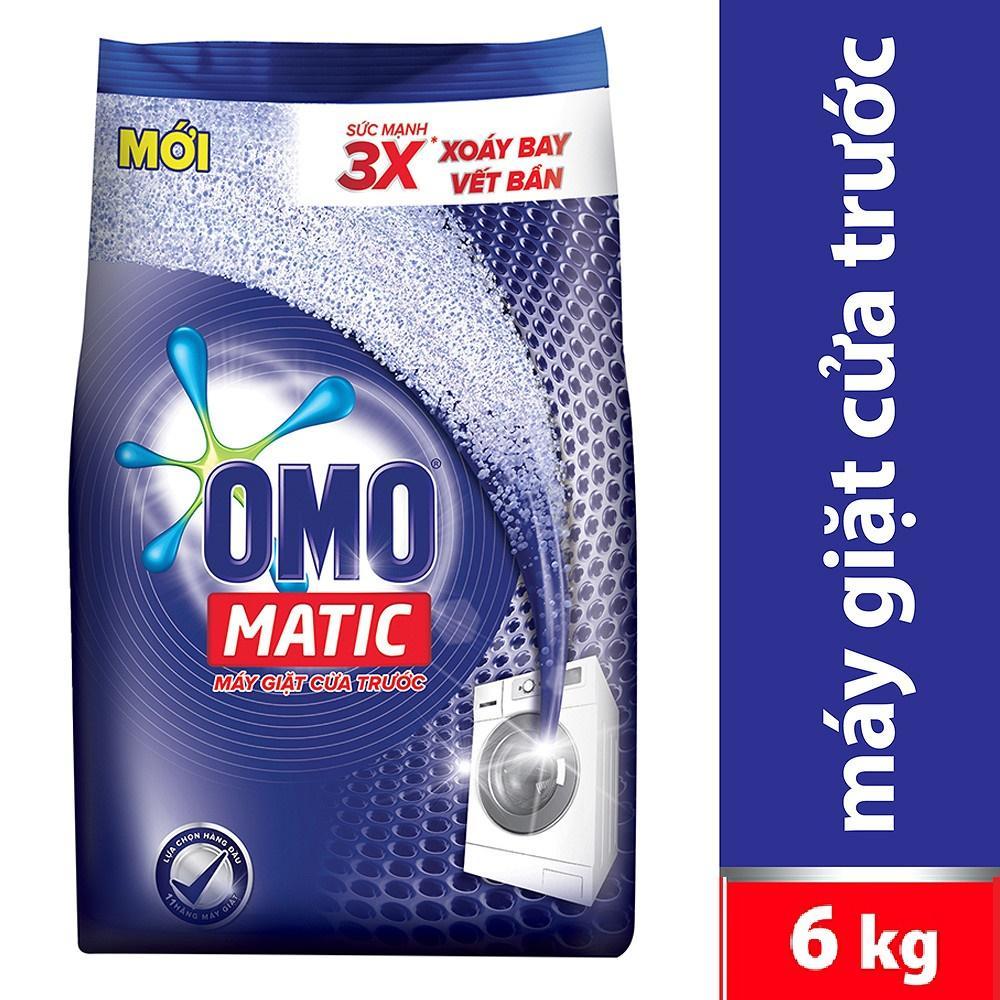 Deal tại Lazada cho Bột Giặt OMO Matic Cửa Trước XANH 6kg
