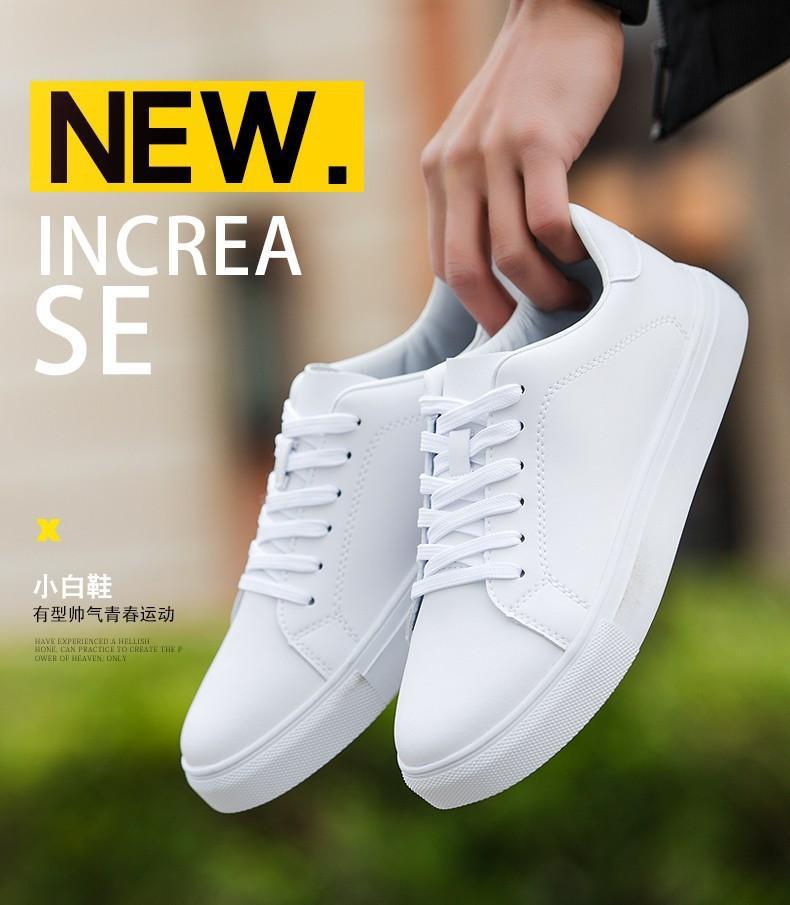 Giày sneaker nam cao cấp M1M màu trắng thể thao (Shop em Hằng)