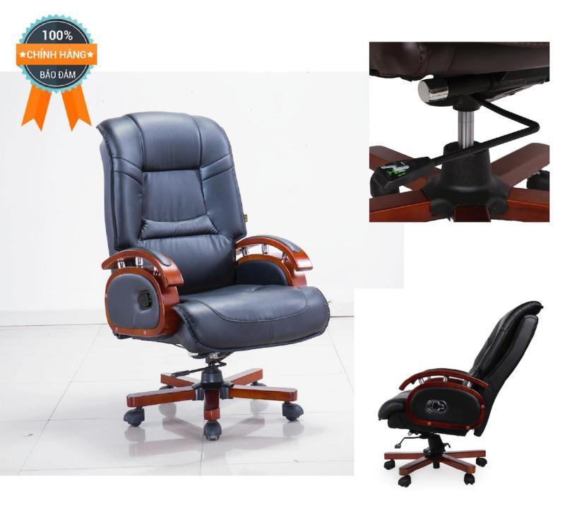 Ghế giám đốc nhập khẩu Mina Furniture MN-G336 (Đen) giá rẻ
