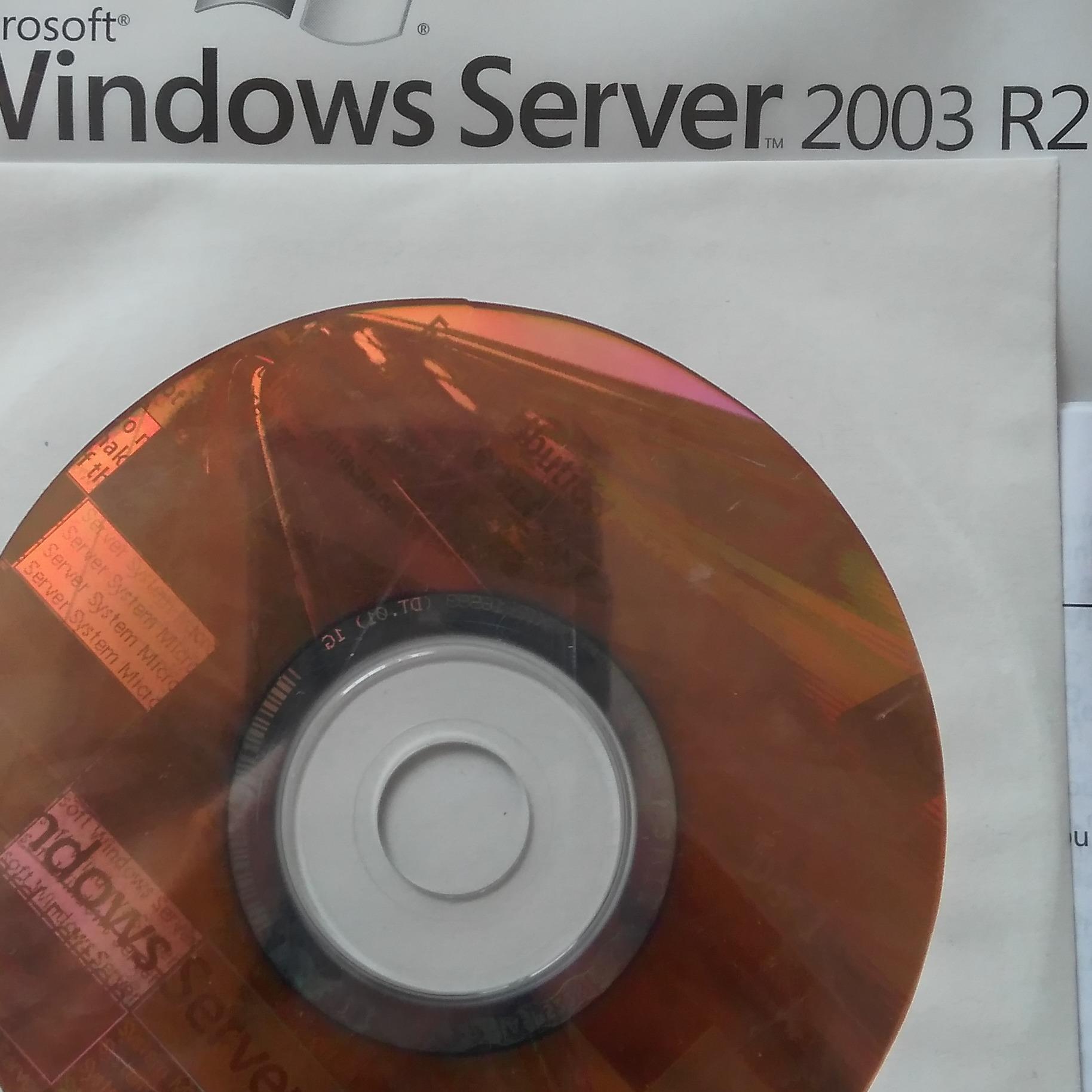 Hình ảnh Windows Server 2003 R2, Standard Edition