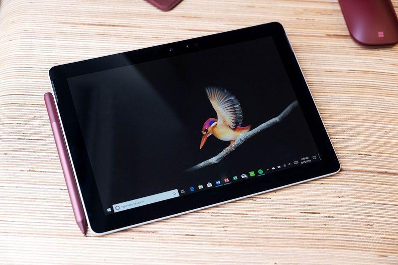 Hình ảnh Microsoft Surface Go 10inch Intel Pentium Gold 4415Y 8GB 128GB SSD Win 10